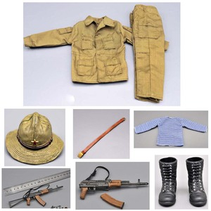 Image 4 - 1/6 scale Action FigureSpecial Forces Clothes Uniform equipment suit w AK74/AK47 for the Soviet Afghanistan Fit 12 Inch figurine