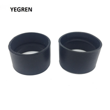 One Pair Black Rubber Eye Cups Guards Caps for 29-30 mm Microscope Eyepiece Binoculars Telescope Inner Diameter 30 Parts
