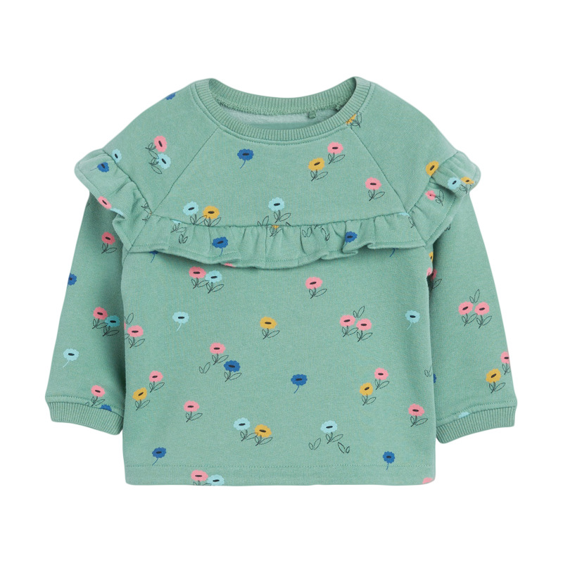 Little maven Girls Clothing Sets Flower Two-piece Toddler Girl Suits Children's Fall Boutique Outfits Kits For Children Sets 2