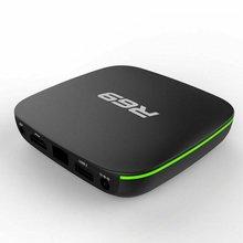 R69 Android 7,1 Smart tv Box 1+ 8G четырехъядерный HD 2,4 GHz WiFi 4K медиаплеер 1080P HD Поддержка 3D фильма