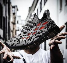 2020 jesień wysokiej jakości mężczyźni buty oddychająca moda duży rozmiar 48 Trendy mężczyźni obuwie białe czarne świecące trampki tenis
