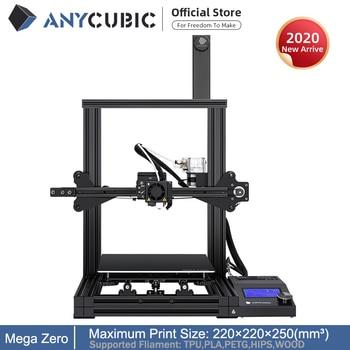 ANYCUBIC Mega-Zero 220X 220X250  DIY 3D Printer desktop 3d printing extruder Metal frame Impresora High Precision  impressora 1