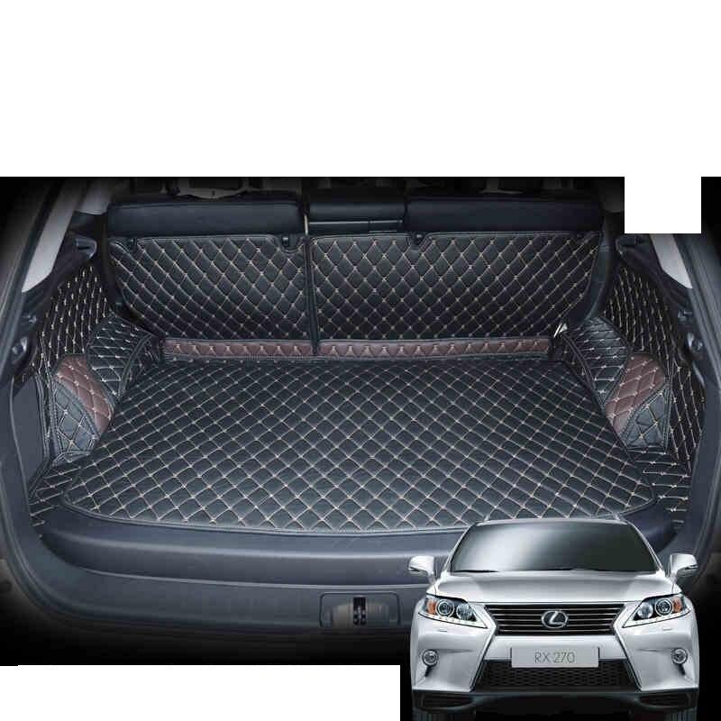 Lsrtw2017 For Lexus Rx Rx270 Rx350 Leather Car Trunk Mat 2009 2010 2011 2012 2013 2014 2015 Cargo Carpet Accessories 270 350