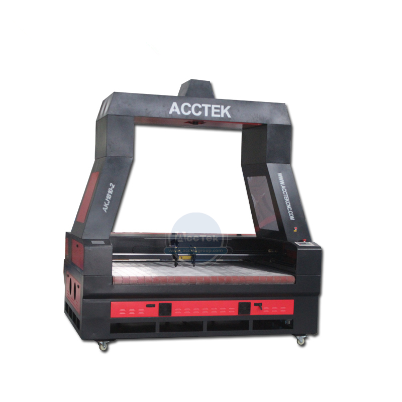 Acctek CCD camera fabric <font><b>laser</b></font> cutting machine auto feeding 100W 150W 180W <font><b>300W</b></font> <font><b>co2</b></font> <font><b>laser</b></font> cutting machine image