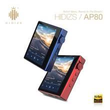 Hidizs AP80 portátil Hi-Res Bluetooth de música de alta fidelidad MP3 jugador ES9218P FLAC tecnología LDAC USB DAC DSD 64/128 FM Radio HibyLink deportes DAP