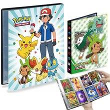 TAKARA TOMY – Album Pokemon, livre de cartes de jeu, porte-cartes de collection, classeur pour Notebook, dossier chargé, jouets pour enfants, 240 pièces