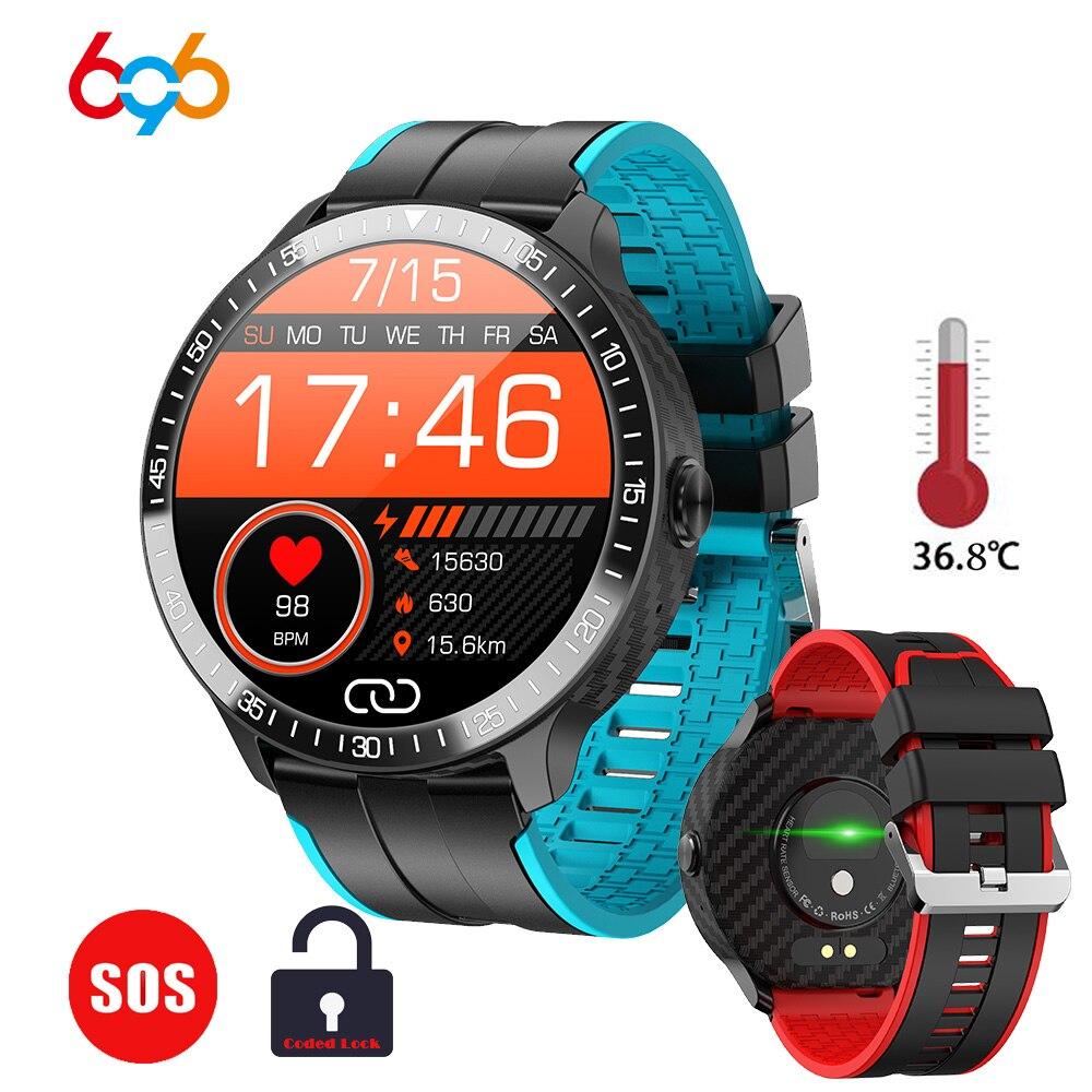 Mt16 1.28 polegada ciclo completo toque inteligente relógio masculino de fitness rastreador relógio feminino gts smartwatch sos bluetooth código chamada bloqueio p8