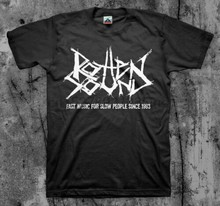 Rotten Sound Fast Music T shirt (Assuck Phobia Napalm Death Insect Warfare)(China)