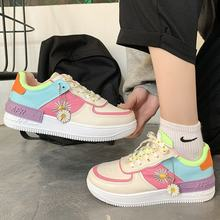 2021 moda primavera novo designer venda quente sapatos brancos plataforma feminina tênis tenis feminino sapatos femininos casuais mulher 42