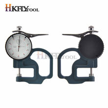 Hoge Precisie 0-10 Mm 0.01 Mm Kies Dikte Gauge Leather Metal Case Tester Platte Breedte Meetinstrument Gereedschappen
