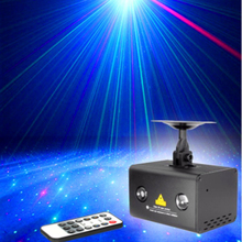 цены Remote Laser Light Projector Stage Lighting Effect RGB LED Water Wave Party Dance Disco DJ Holiday Xmas Lights