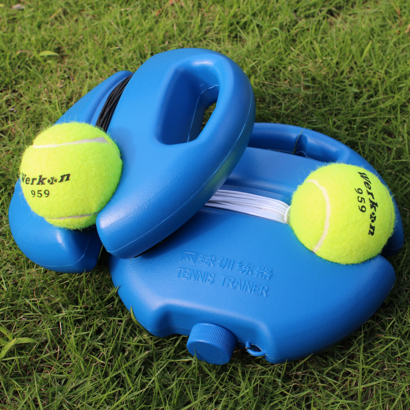 Strength Support Audits Single Person Tennis Trainer Golf Tee Tennis Training Simulator Patented Product