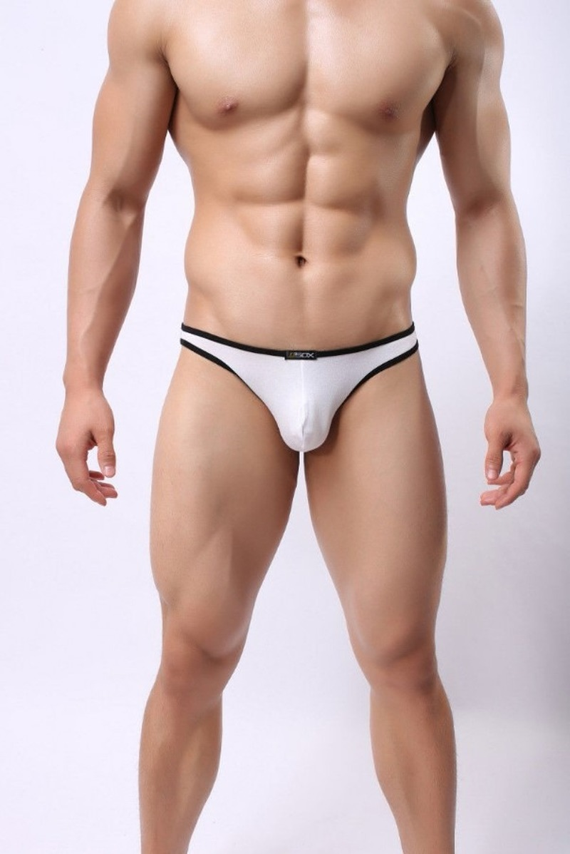 Sexy high-cut swimsuit, men's underwear, swimsuit, gay swimsuit, ice silk swimsuit SA-8