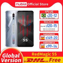 Versão global nubia magia vermelha 5S jogos smartphone redmagic 5S 5g jogo telefone móvel snapdragon 865 nfc 6.65