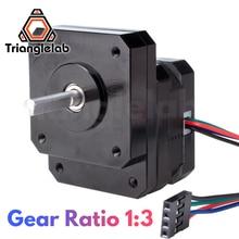 Trianglelab Nema 17 Geared Stepper Motor1:3 Reducting Stepping Motor For Prusa I3 MK3S Extruder Change 1:3 Gear Ratio