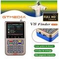 [Бразилия] GTMEDIA V8 Finder DVB-S2/S2X Цифровой спутниковый Finder высокой четкости 1080P HD ACM Sat Finder Meter с аккумулятором 3000mA