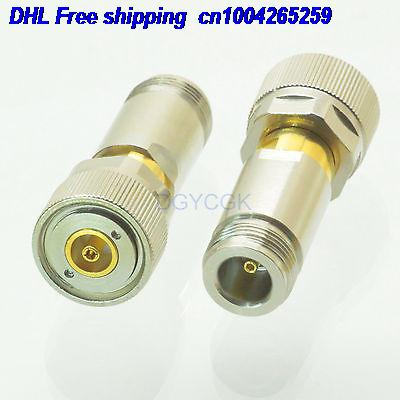 DHL 10pcs  Conversion Adapter APC7 Male M To N Female F  RF  Connector  For Communication Adapter Connector  22cs