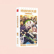 1660pcs/Box Seraph of the end Postcards Anime Post Card Message Gift