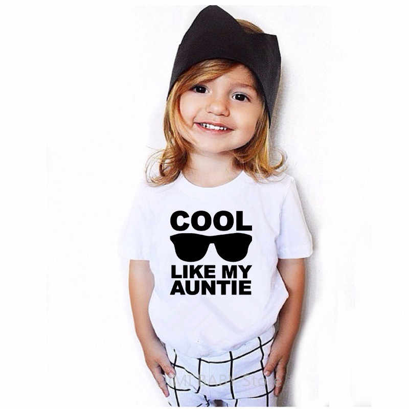 I Get My Good Looks From My Auntie Childrens Kids Boys Girls T-Shirt