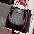 Роскошные женские сумки, дизайнерские высококачественные дамские сумки через плечо из искусственной кожи с надписью для женщин, сумка-месс...