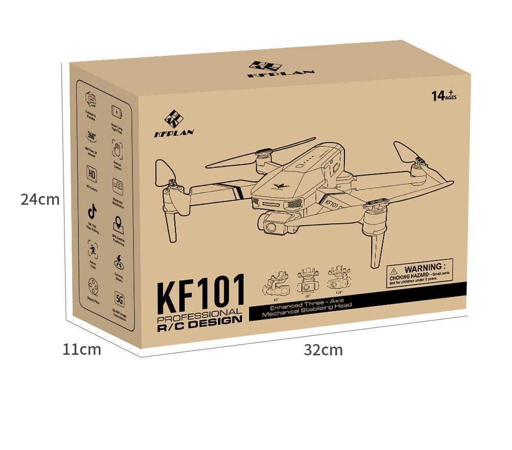 H8f1d433183454954926a8b77b05e65456 - New KF101 GPS Drone 4K Professional 8K HD EIS Camera Anti-Shake 3-Axis Gimbal 5G Wifi Brushless Motor RC Foldable Quadcopter