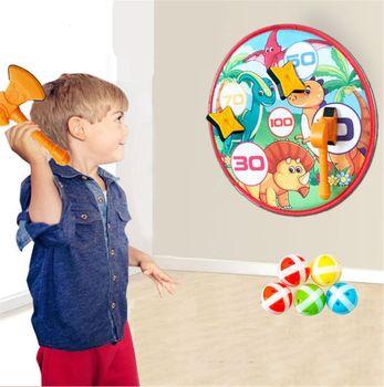 Cel dla dzieci zabawka bezpieczeństwo lepka piłka tkanina jakość docelowe rzutki zabawka kryty odkryty rodzic-dziecko aktywność gra zabawka tanie i dobre opinie CN (pochodzenie) Drewna Chwytając ruch zdolność rozwoju 5-7 lat Unisex plastic cloth One Size 35cm(13 78in) 0 3cm(0 12in)