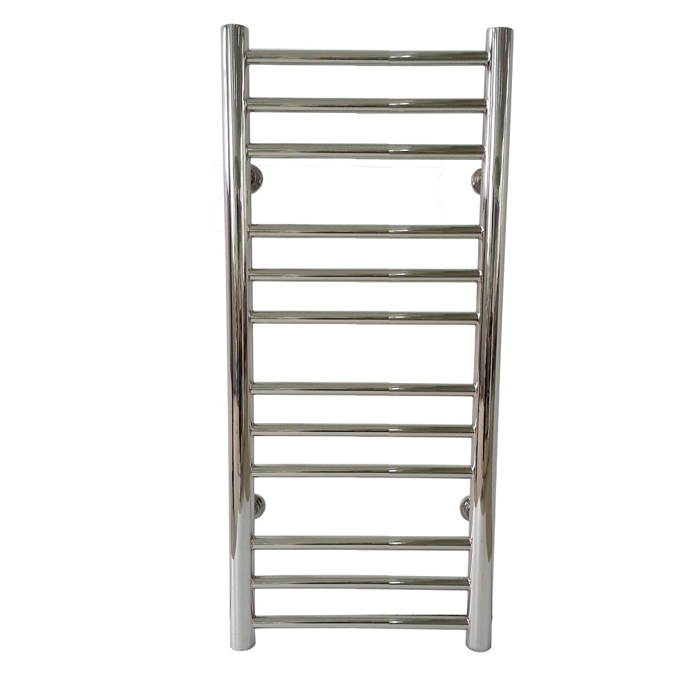 2020 Popular Polished Straight Water Heated Stainless Steel 304 Hydronic Water Towel Warmer 7016