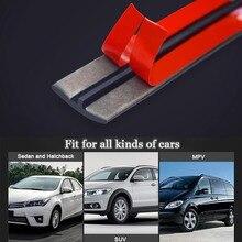 автотовары T Type Car Front Rear Windshield Seal Trim Car Window Sealant Rubber Sunroof Sealed Strips Sticker наклейки на авто
