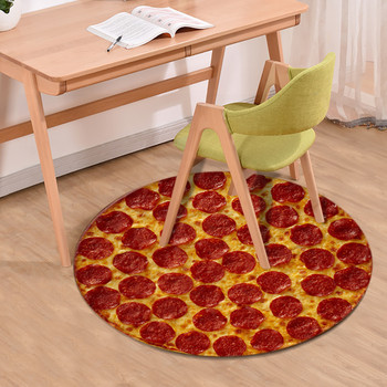 Food Chair Cushion Doormats Retro Pattern Anti-slip Carpet Rug Bathroom Entrance Outdoor Floor Mat Home Decor 40x60cm image