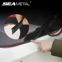 2 м автомобильные резиновые уплотнители на авто резиновые уплотнительные наклейки на заднее стекло водонепроницаемые уплотнительные полосы Шумопоглощающие уплотнительные прокладки аксессуары