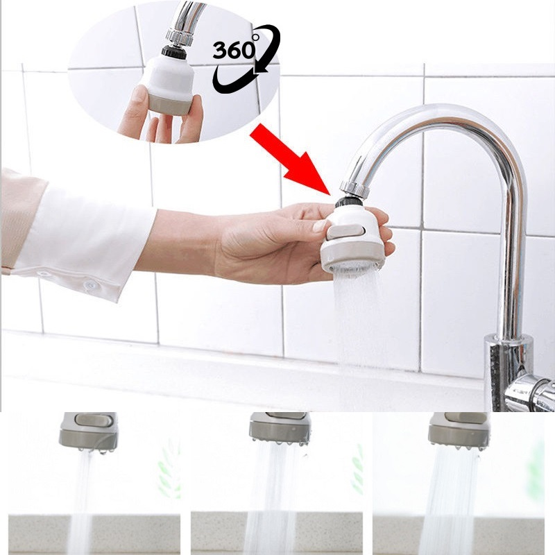 Kitchen Faucet Rotatable Nozzle Kitchen Moveable Flexible Tap Head Shower Diffuser Adjustable Booster Faucet Kitchen Accessories