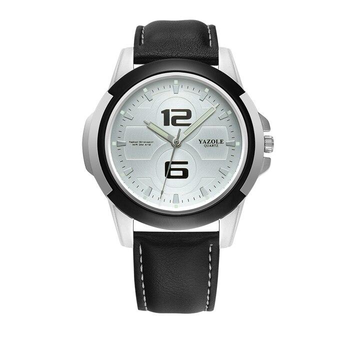 YAZOLE Wrist Watch Men Top Brand Luxury Famous Male Clock Quartz Watch Wristwatch Quartz-watch Relogio Masculino YZL418