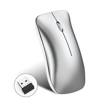 Oplaadbare 2.4G Draadloze Muis Bluetooth Muis Computer Muis Draadloze Ergonomische Stille PC Mause Mini USB Optische Muizen