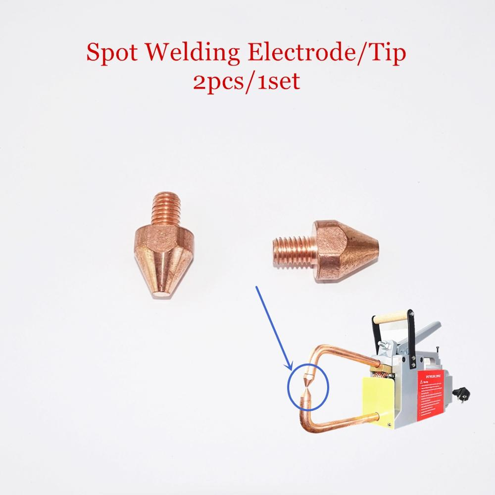 Resistance Spot Welding Tips Electrodes For Welding Thickness 1.5+1.5mm Steel Plat CE Portable Spot Welder