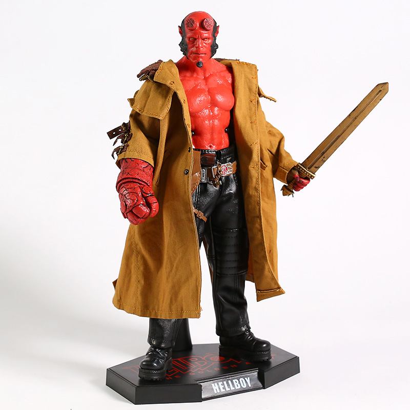 Hellboy II 2 The Golden Army 1/6 Bilancia 12 Action PVC Figure Da Collezione Model Toy - 3