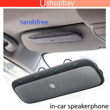 Bluetooth Wireless in Car Multipoint Speaker Phone Visor Clip Hands free Car kit # tz900 цены онлайн
