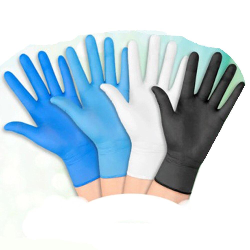 Powder-free Acid-base Disposable Nitrile Gloves Non-slip Food-grade Gloves