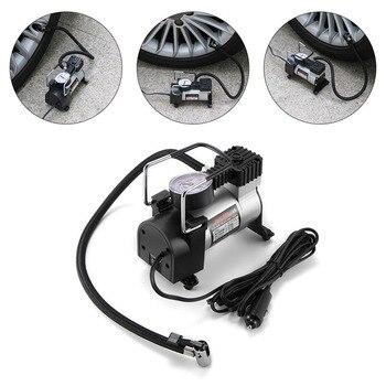 Universal 12V High-Power Car Double-Cylinder Inflator Pump Air Compressor Inflator Portable 150psi Car Tire Pump car Accessories