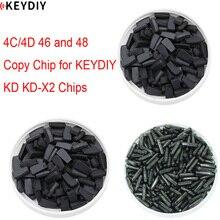 4C Key-Programmer Clone-Chip And 48 for KEYDIY KD-X2 10pcs/Lot 46 46