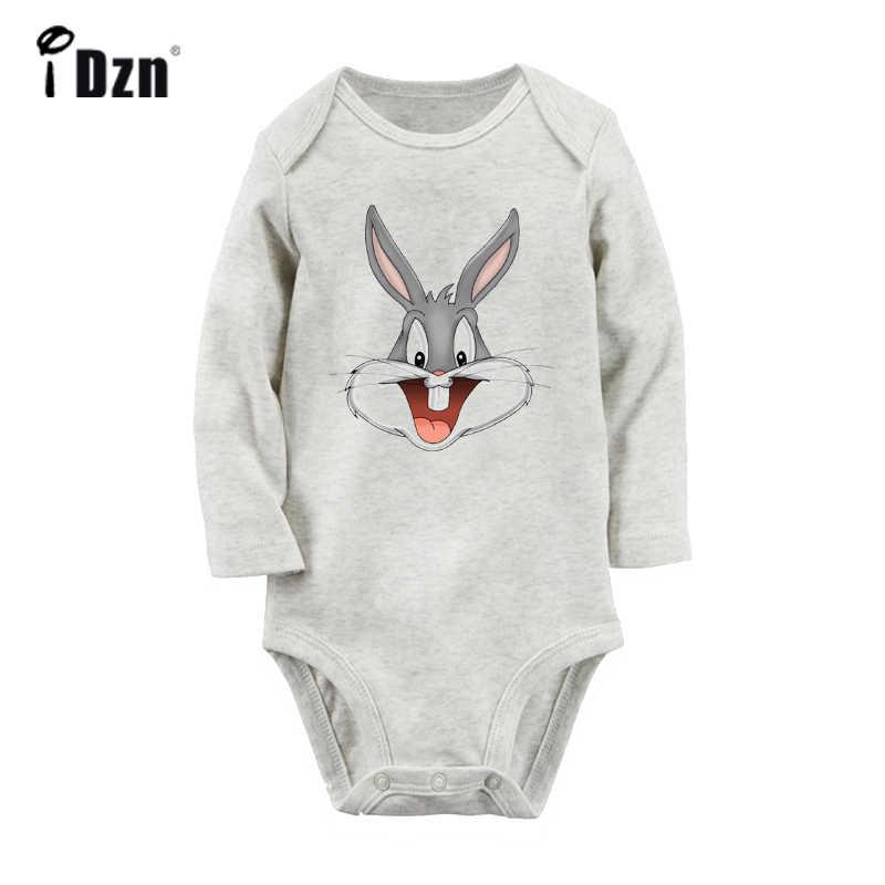 Мультяшный милый кролик жуки кролик и Твити птицы Черный кот дизайн новорожденных боди для малышей Onsies комбинезон хлопковая одежда