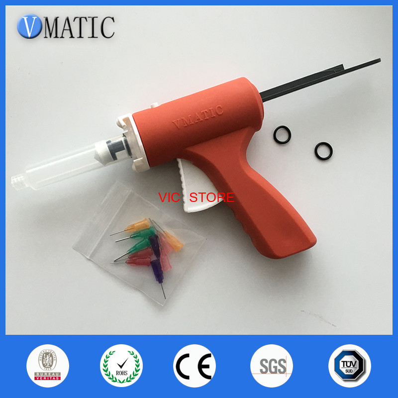Free Shipping Quality 10ml 10cc Manual Syringe Gun/ Epoxy Caulking Adhesive Gun Single Liquid Glue Gun/Dispenser Gun