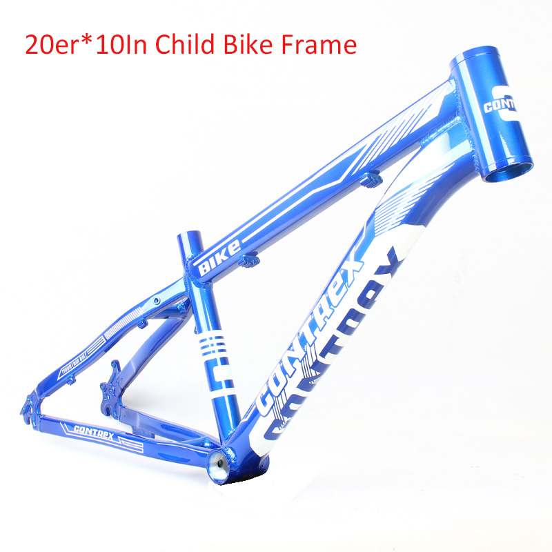 Alloy Aluminum 20er 10In Kid's Bike Frame Small MTB Mountain Bicycle Frame Bike Accessories