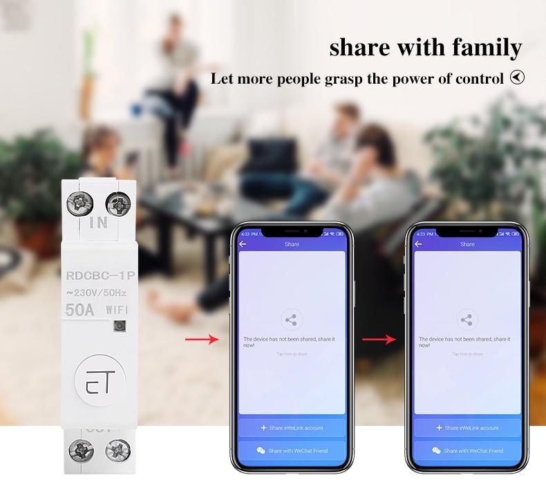 para casa inteligente interruptor do temporizador de wifi