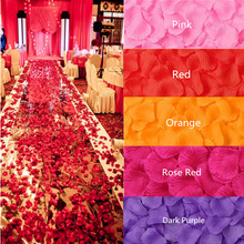 Rose Flower Petals Shower-Decorations Gift-Wrap Leaves Artificial-Silk Wedding-Ceremony
