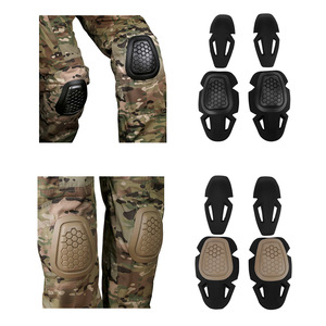 Tactical Knee and Elbow Pads Protective Gear Set G4 Combat Uniform Milirary Training CS Game Sport Equipment
