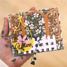Eastshape подвесная корзина цветочные штампы металлические режущие