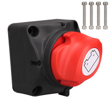 12V/24V Batterie Schalter 300A Batterie Power Cutoff Master Schalter Trennen Isolator Für Auto Auto RV ATV UTV Marine Boot Auf Off