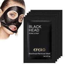 10 pacote de beleza nariz máscara de remoção de cravo máscara preta máscara facial cabeça preta poros tira descascar fora maquiagem pontos pretos máscara