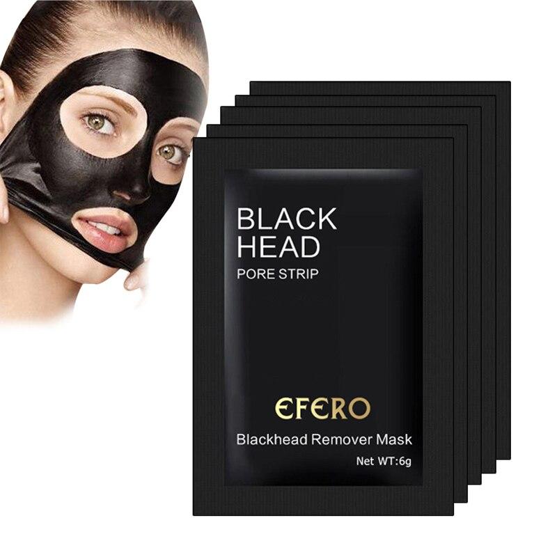 5/7/10pcs Beauty Nose Mask Blackhead Removal Black Mask Face Mask  Black Head Pore Strip Peel Off Makeup Black Dots Maskblack masknose  maskblack mask face mask