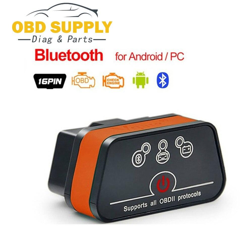 OBD 2 OBD2 ICar 2 Elm-327 Bluetooth Wifi Adapter Car Diagnostic Tool Scan Tool For Bmw  For Vag For Benz  PK Opcom Ecu